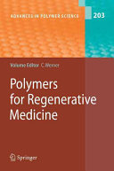 Polymers for Regenerative Medicine