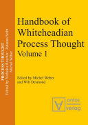 Handbook of Whiteheadian Process Thought