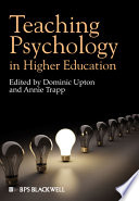 Teaching Psychology In Higher Education
