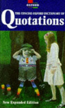 The Concise Oxford Dictionary Of Quotations Book PDF