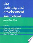 The Training and Development Sourcebook