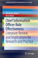 Pdf Chief Information Officer Role Effectiveness Telecharger