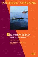 Pdf POLITIQUE AFRICAINE N-116 : Gouverner la mer. Etats, pirates, sociétés Telecharger