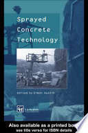 Sprayed Concrete Technology