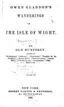 Owen Gladdon s Wanderings in the Isle of Wight