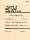 Journal of Northwest Anthropology Book