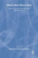 When Men Were Men