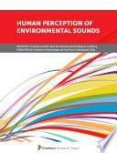 Human Perception of Environmental Sounds