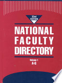 National Faculty Directory