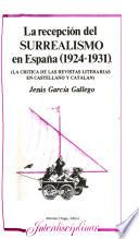 La recepción del surrealismo en España, 1924-1931