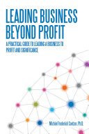 Leading Business Beyond Profit Pdf/ePub eBook