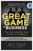 The Great Game of Business  Expanded and Updated Book