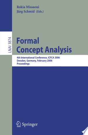 Download Formal Concept Analysis Free PDF Books - Free PDF