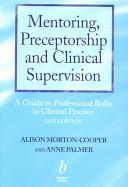 Mentoring Preceptorship And Clinical Supervision Book PDF