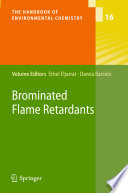 Brominated Flame Retardants Book