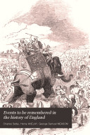 Pdf Events to be remembered in the history of England
