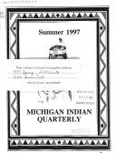 Michigan Indian Quarterly