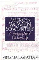 American Women Songwriters Book PDF