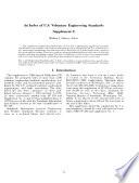 An Index of U.S. Voluntary Engineering Standards. Supplement