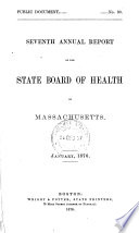 ... Annual Report of the State Board of Health of Massachusetts