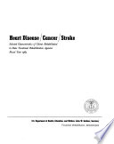 Heart Disease  Cancer  Stroke  Selected Characteristics of Clients Rehabilitated in State Vocational Rehabilitation Agencies  Fiscal Year 1965