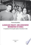 Language Policy And Linguistic Minorities In India