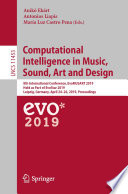 Computational Intelligence In Music Sound Art And Design