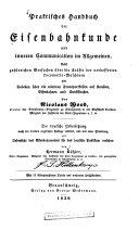 Praktisches handbuch der eisenbahnkunde und inneren communication im allgemeinen