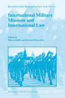 International Military Missions and International Law