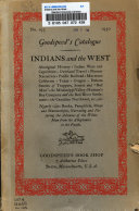 Indians and the West ...