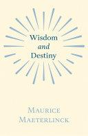 Pdf Wisdom and Destiny Telecharger
