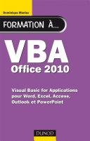 Pdf Formation à VBA Office 2010 Telecharger