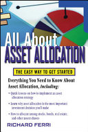 All About Asset Allocation Book
