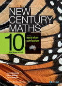 Cover of New Century Maths for the Australian Curriculum 10