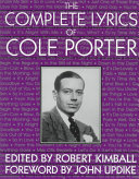 The Complete Lyrics Of Cole Porter