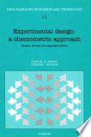 Experimental Design: A Chemometric Approach