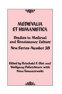 Pdf Medievalia et Humanistica, No. 38 Telecharger