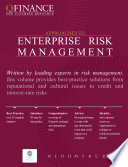 Approaches to Enterprise Risk Management