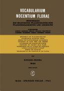 Vocabularium Nocentium Florae