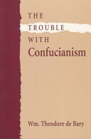 The Trouble with Confucianism