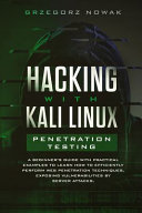 Hacking With Kali Linux Penetration Testing Book PDF