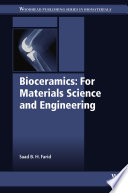 Bioceramics  For Materials Science and Engineering