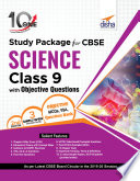 """""""10 in One Study Package for CBSE Science Class 9 with Objective Questions 2nd Edition"""" by Disha Experts"""
