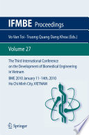 The Third International Conference on the Development of Biomedical Engineering in Vietnam Book