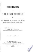 Christianity in the First Century