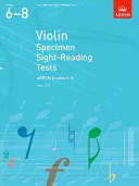 Violin Specimen Sight Reading Tests 6-8