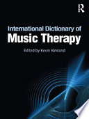 International Dictionary of Music Therapy Book