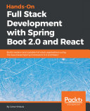 Hands On Full Stack Development with Spring Boot 2 0 and React