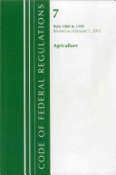 Code Of Federal Regulations Title 07