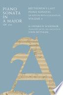 Piano Sonata in a Major, Op. 101
